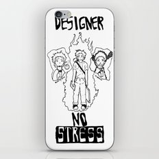 DESIGNER - NO STRESS! iPhone & iPod Skin