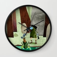 The Potion Maker Wall Clock