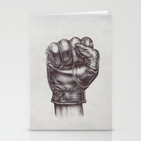 fight Stationery Cards featuring FIGHT by Lassana