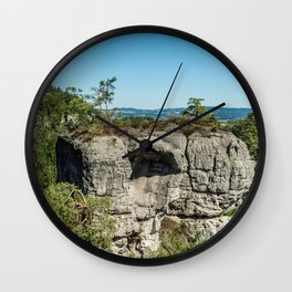 Hrubá Skála- Czech Republic Wall Clock