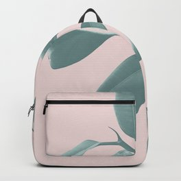 Ficus Elastica #1 #blush #decor #art #society6 Backpack