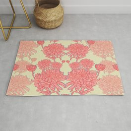 Chrysanthemum in Pink Rug