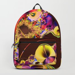 Hibiscus in Yellow Backpack