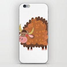 Cute Bull iPhone & iPod Skin