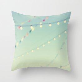 magical summer nights Throw Pillow
