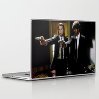 pulp fiction Laptop & iPad Skins featuring Pulp Fiction by Susan Lewis