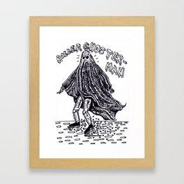Roller-Ghoster Framed Art Print