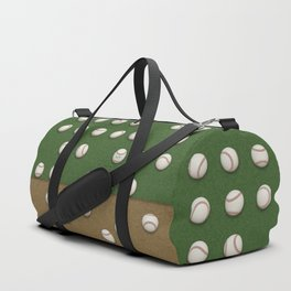 Balls On Field Duffle Bag