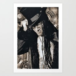 Mr. Steampunk Art Print