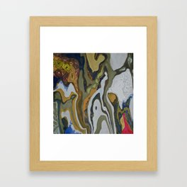 Taming The Waves Framed Art Print