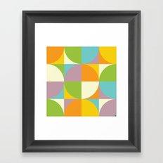 Quarters Quilt 2 Framed Art Print