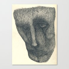 The sad Canvas Print