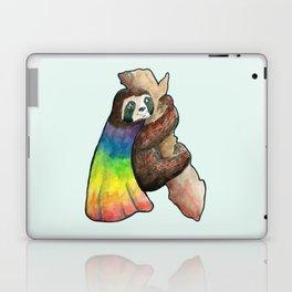 the gay hero sloth Laptop & iPad Skin