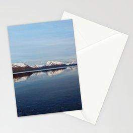 Mountains on Karluk Lake Photography Print Stationery Cards