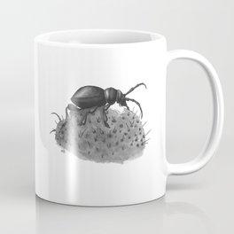 Inktobober 2016: Cactus Longhorn Beetle Coffee Mug