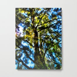 Abstract Tree 49 Metal Print