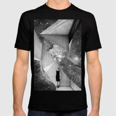 A Sliver of Hope Black LARGE Mens Fitted Tee