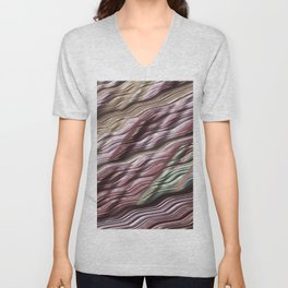 Creamy Colors, discrete Unisex V-Neck