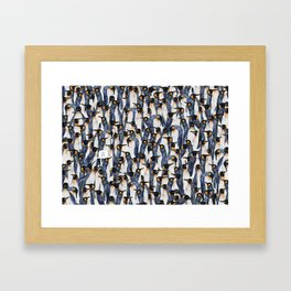 Singing Penguin Framed Art Print