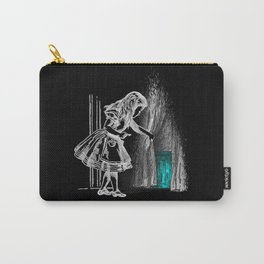 Follow The White Rabbit II Carry-All Pouch
