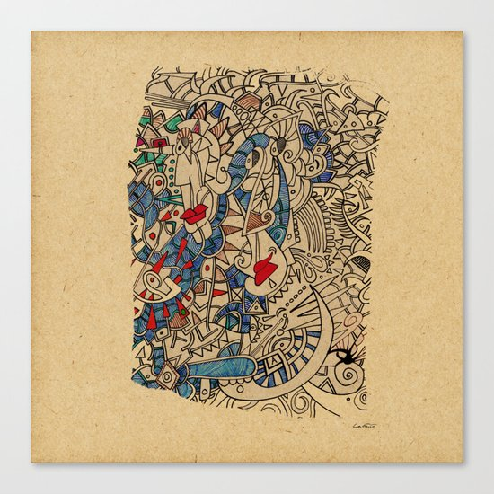 - medieval - Canvas Print