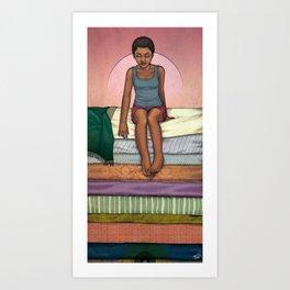 & The Pea Art Print