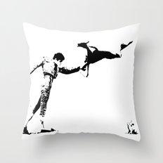 Final Showdown Throw Pillow