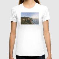 big sur T-shirts featuring Bixby Bridge at Big Sur by photographyk