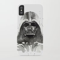 darth vader iPhone & iPod Cases featuring Darth Vader by Olechka