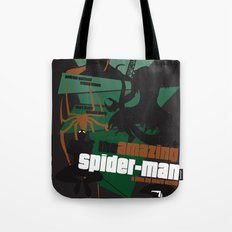Amazing Spider-man Poster Tote Bag