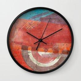 Di Lambretta a Milano (Lambretta in Milan) Wall Clock