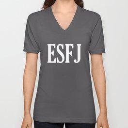 ESFJ Personality Type Unisex V-Neck