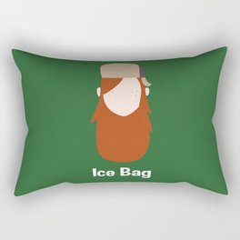 Ice Bag Rectangular Pillow