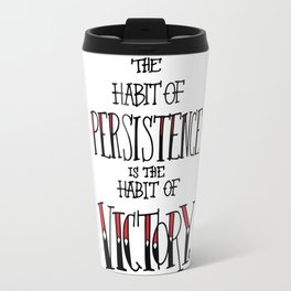 The Habit of Victory Travel Mug