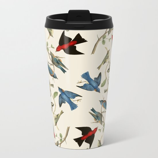 Birds of a Feather Metal Travel Mug