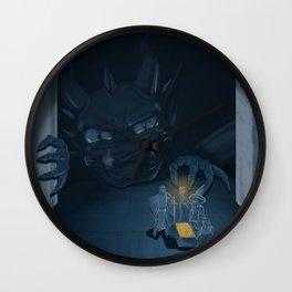 Hello, Treasure! Wall Clock