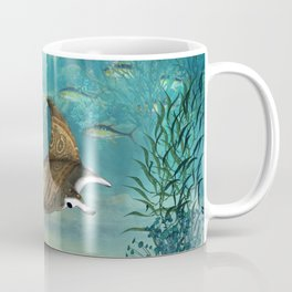 Awesome steampunk manta rays Coffee Mug