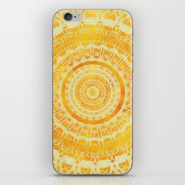 Sun Mandala 4 iPhone Skin