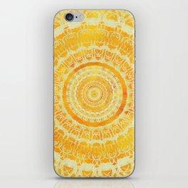 Sun Mandala 4 iPhone Skin