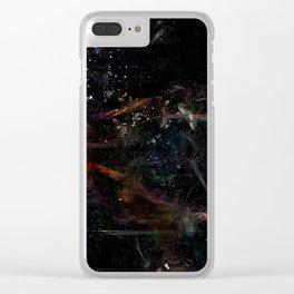 Quantum Fire Clear iPhone Case
