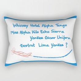 What ?? Rectangular Pillow
