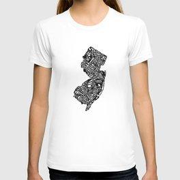 Typographic New Jersey T-shirt