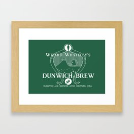 Dunwich Brew Framed Art Print