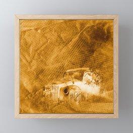Ghost driver in the rust Framed Mini Art Print
