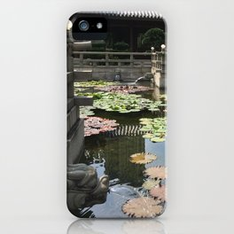 Temple waters  iPhone Case