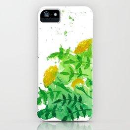 Marigold 7 iPhone Case