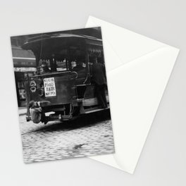 Hitching A Ride On The Trolley - Boston - 1909 Stationery Cards