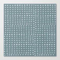 Slate x Dots Canvas Print