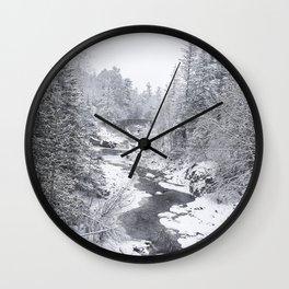 Snow globe Wall Clock