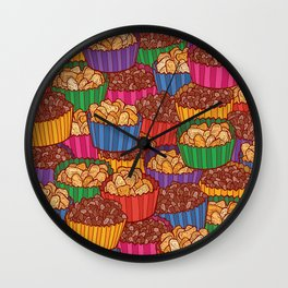 Chocolate Crackles & Honey Joys Wall Clock